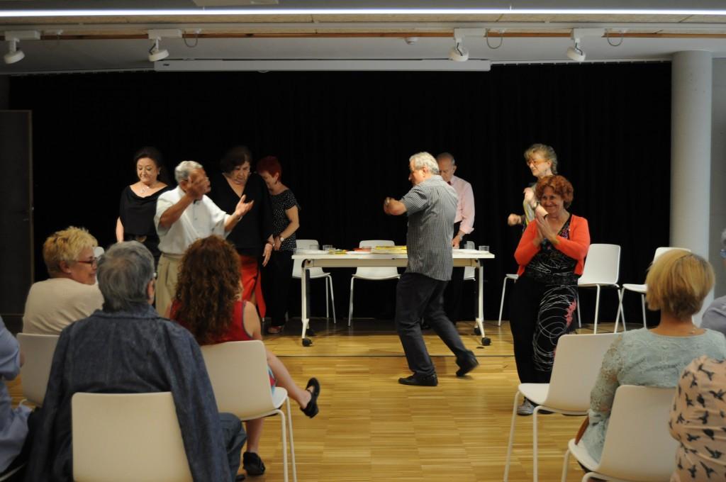 Teatre fòrum grup de gent gran Horta Guinardó