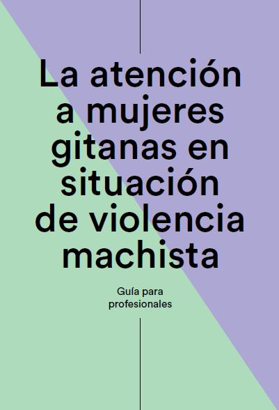 Portada guia d'atenció a les dones gitanes en situació de violència masclista