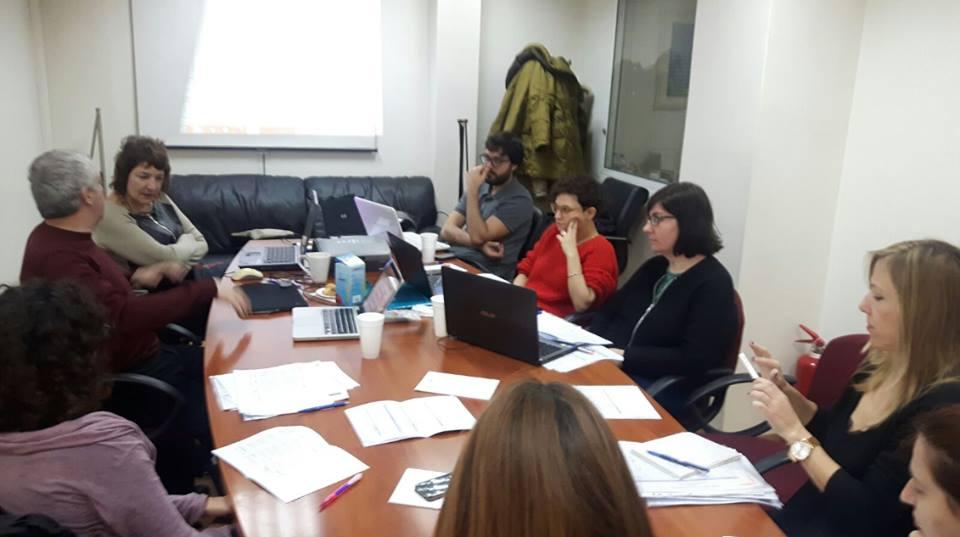 Trobada a Grècia de les partners del projecte